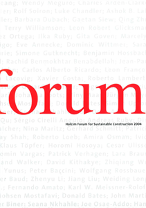 Picture of Basic Needs: First Forum - Holcim Forum 2004 in Zurich