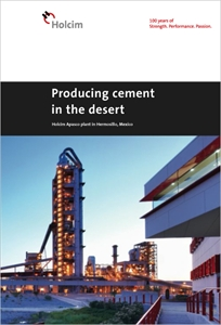 Picture of Producing cement in the desert – Holcim Apasco plant in Hermosillo, Mexico